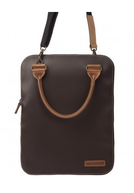 Bag 2.0 Flat Marrone tracolla