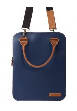 Bag 2.0 Flat Blu tracolla