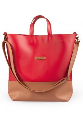 Weekender bag red