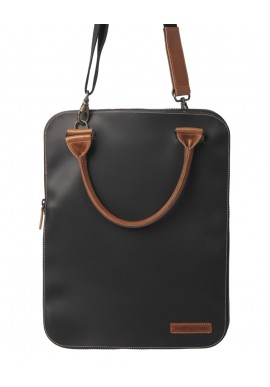 Bag 2.0 Flat Nera tracolla