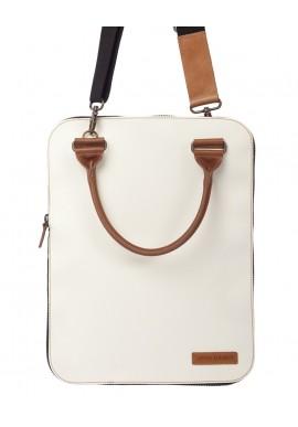 Bag 2.0 Flat Bianca tracolla