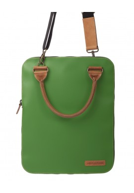 Bag 2.0 Flat Verde tracolla