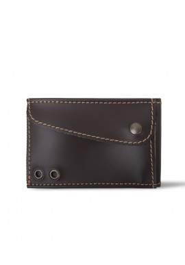 Slim Wallet Marrone