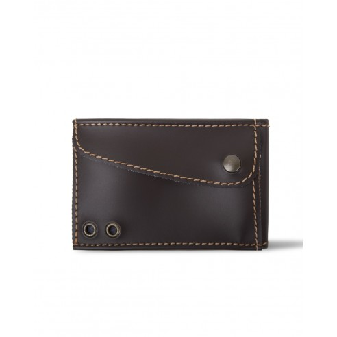 Slim Wallet Marrone