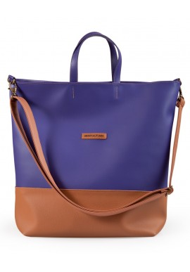 Weekender bag purple