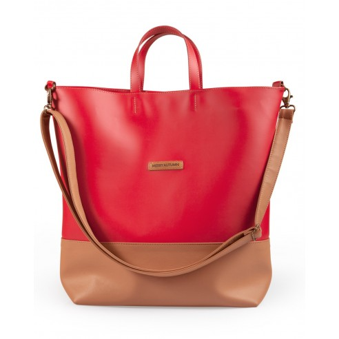 Weekender bag red
