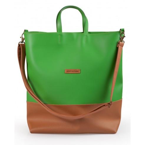 Weekender bag green