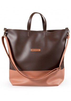 Weekender bag Marrone