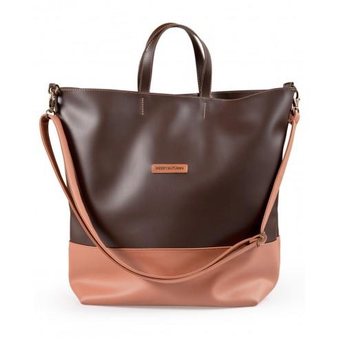 Weekender bag Marrone