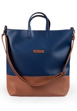 Weekender bag blu